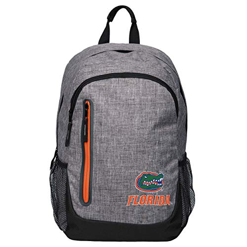 FOCO NCAA Florida Gators Heather Grey Bold Color Backpackheather Grey Bold Color Backpack, Team Color, One Size ()
