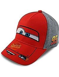 Boys Cars Lightning McQueen Cotton Baseball Cap (Ages 2-7)