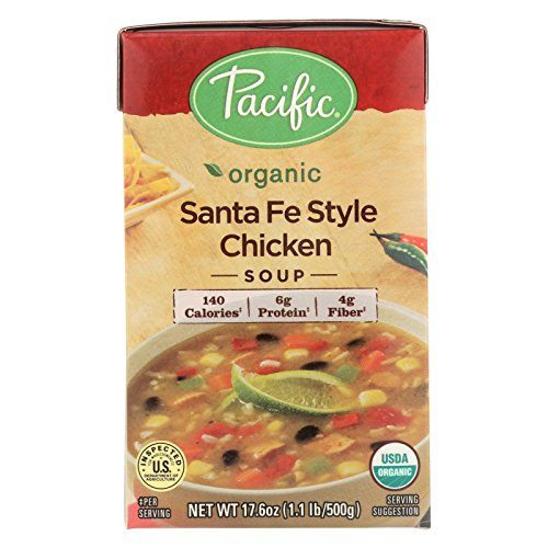 Pacific Natural Foods Chicken Soup - Santa Fe Style - Case of 12 - 17.6 oz. by Pacific Natural Foods