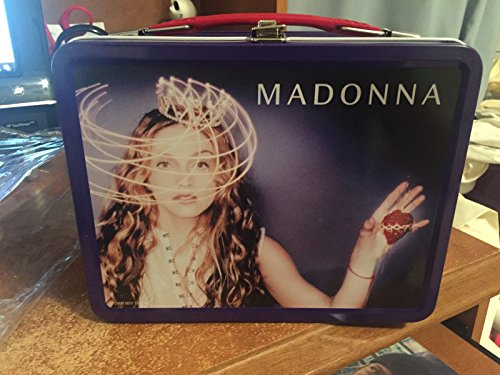 MADONNA RAY OF LIGHT RETRO TIN LUNCH BOX NEW MINT NECA W/OUTER PLASTIC COVER