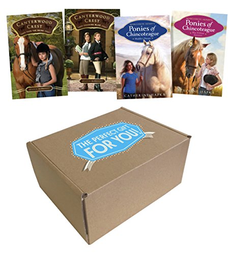 The Perfect Gift for Girls 8-12 Who Love Horses: Take the Reins; Chasing Blue; Maddie's Dream; Blue Ribbon Summer (Perfect Girl Gift)