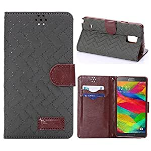Galaxy Note 4 case,Note 4 case,Creativecase Carryberry Note 4 leather case,new fashion Jeans PU Design Flip Wallet Leather Case Cover With Stand For Samsung Galaxy Note 4 03#20T