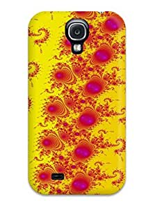 Protective Tpu Case With Fashion Design For Galaxy S4 (fractal Pattern)