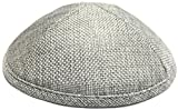 A1 Skullcap Burlap Fabric Kippot Single or Bulk Kippah Optional Custom Imprinting Inside for Your Speacial Event