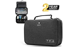 VASCO Hanging Toiletry Bag for Men And Women – Water-Resistant Travel Organizer