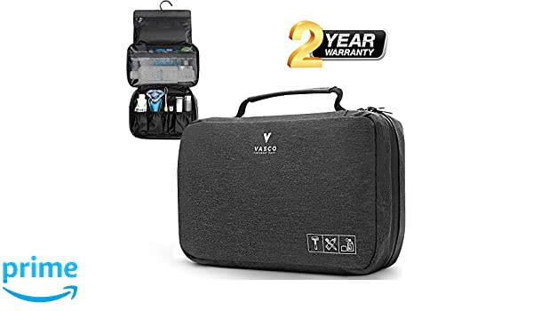9c91130f9355 Amazon.com   VASCO Hanging Toiletry Bag for Men And Women - Water-Resistant  Travel Organizer   Beauty