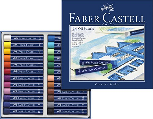 Faber-Castel FC127024 Creative Studio Oil Pastel Crayons (24 Pack), Assorted by Faber Castell