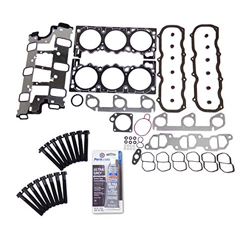 Head Gasket Set Bolt Kit Fits: 97-00 Ford Explorer Ranger Mazda B4000 4.0L OHV 12v VIN X
