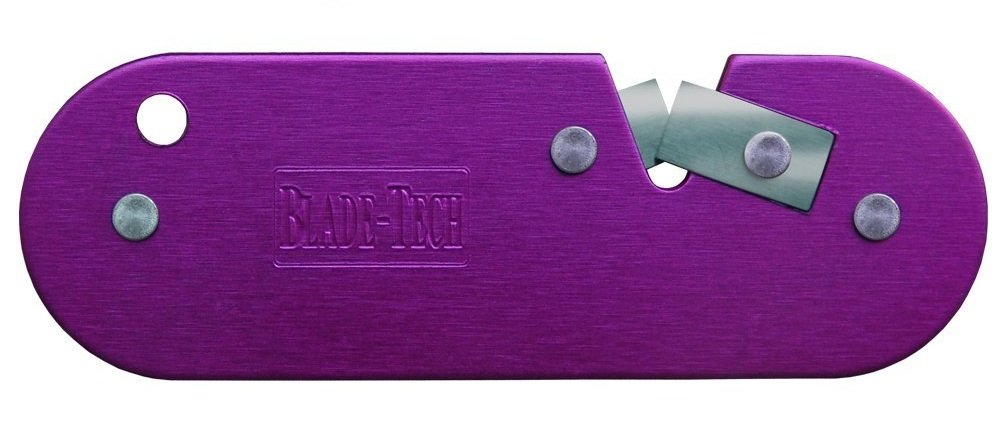 Blade Tech Ultimate Sharpener for Knives and Garden Tools in Purple BT006GARD