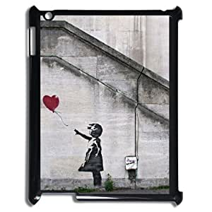 Banksy Art Graffiti Girl balloon phone Case Cover for ipad 2 3 4 case RCX034975