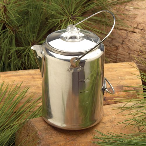 Texsport Aluminum 9 Cup Percolator, Outdoor Stuffs