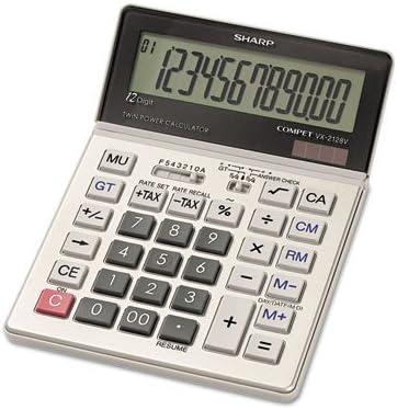 B00006IF9S Sharp, VX2128V, Commercial Desktop Calculator, 12-Digit LCD 51oF2BIY7EHL