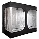 SonShop Grow Tent Room 2 Door Mylar Hydroponic for Indoor Plant Growing 96''x48''x78'' US Stock