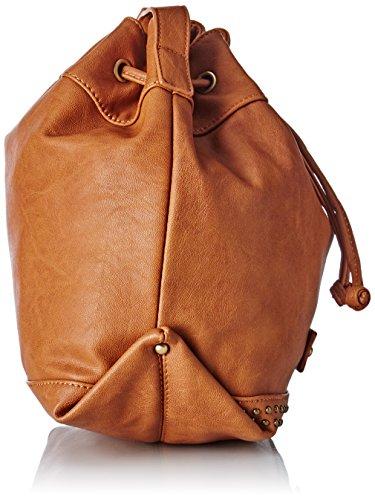 Le Temps des Cerises Jill 3 - Bolsa de hombro Mujer Naranja (Camel)