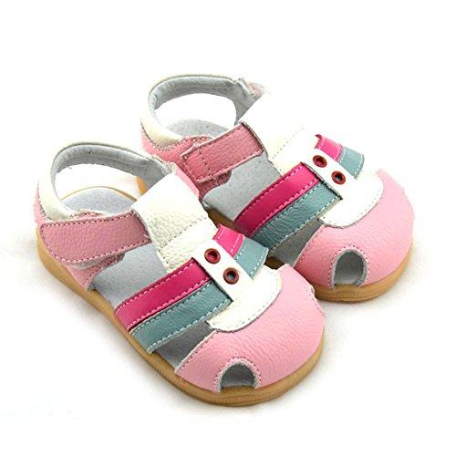 LOSORN ZPY Baby Schuhe Sandalen Mädchen Junge Laufenschuhe sehr bequem Rosa