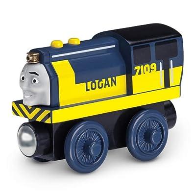 Dirty Logan - Thomas Wooden Railway Tank Engine Train Loose: Toys & Games