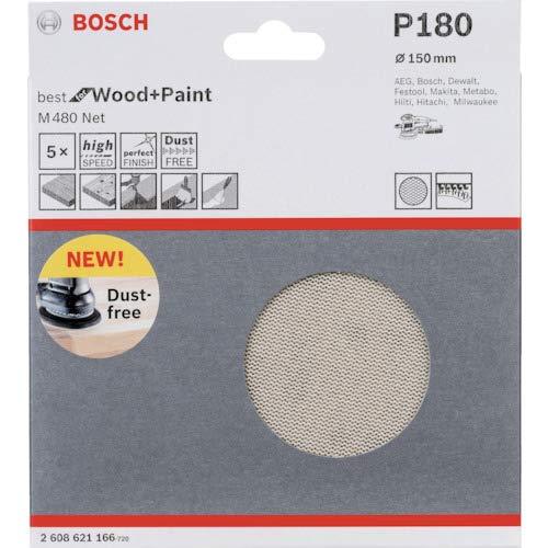 Beige 150 mm Bosch 2608621166 Maglia Abrasiva