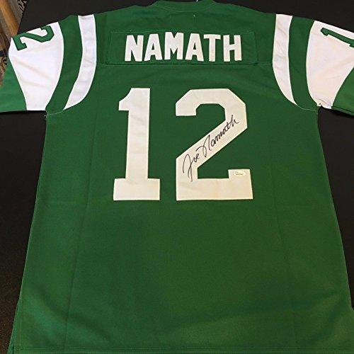 Beautiful Joe Namath Signed Autographed Authentic 1968 NY Jets Jersey JSA  COA 7011e54d3