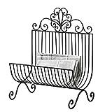 PierSurplus Free Standing Metal Magazine Rack, Newspaper Stand Product SKU: HD222243