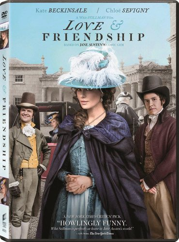 DVD : Love and Friendship (Dolby, AC-3, Widescreen)