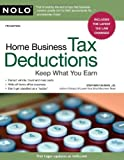 Home Business Tax Deductions, Stephen Fishman, 1413312780