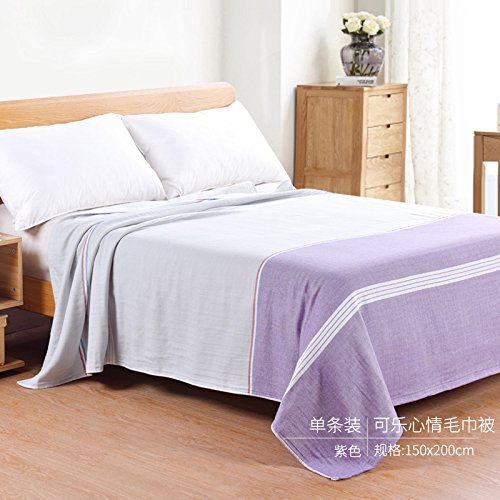 Bedding Soft Fabric Warm Lightweight Couch Blanket, Pure ...