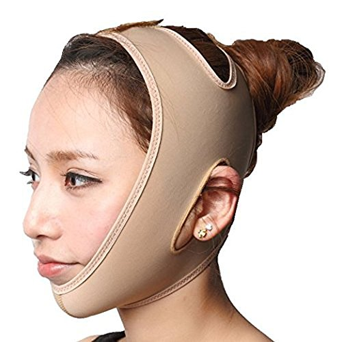 Price comparison product image KOLIGHT Anti Wrinkle V Full Face Chin Cheek Lift up Slim Slimming Thin Mask Belt Band Strap (XL)