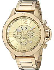 Armani Exchange Mens AX1504  Gold  Watch