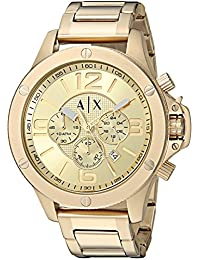 Armani Exchange AX1504 Watch, Men, Gold