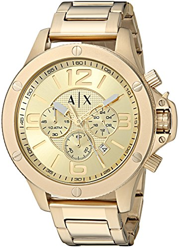 Armani Exchange Men's AX1504  Gold  - Armani 2014 Exchange