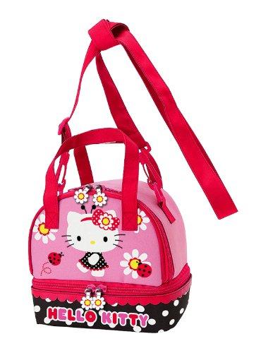 a347aa140b25 Amazon.com  Hello Kitty Lunch Bag  Ladybug  Reusable Lunch Bags ...