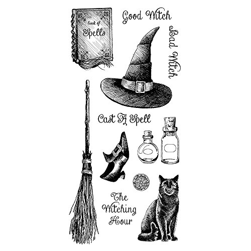 Inkadinkado Witching Hour Clear Stamp Set_60-31337 -