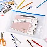 MILOLO Plastic Envelopes Poly File Pouch