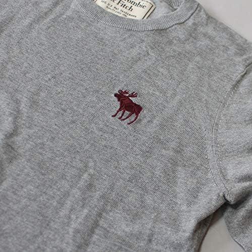 クルーネックセーター Icon Crew Sweater Grey グレー [並行輸入品]