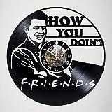 Best Friends tv show Friend Phone Stickers - Joey Tribbiani - Friends - Vinyl Wall Clock Review