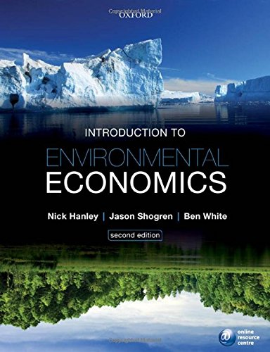Environmental Economics Books Pdf