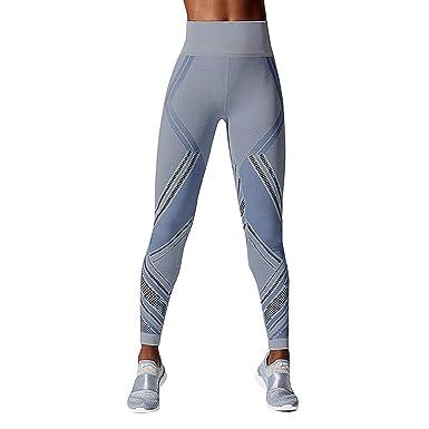Pantalones de Yoga de Verano Color Sólido para Mujeres,Moda ...