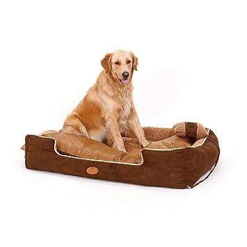 ACLBB Cama para Mascotas de Alta Gama, Desmontable y fácil de Limpiar y cómoda Cama para Perros y Gatos con sofá, S, M, L,L: Amazon.es: Hogar