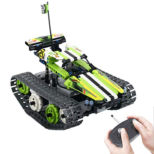 RC Tracks Engineering for Kids - Remote Control Car Kit Building Toys Gift for boys and Girls Ages 6-15 Years Old | Fun, Cool Educational STEM Learning Toy Set| Best Gift Ideas for Birthday Kids