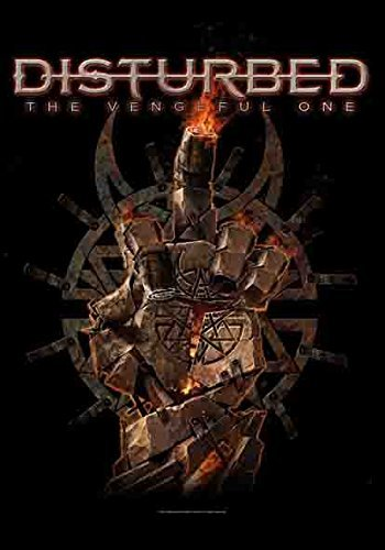 Disturbed - The Vengeful One - Fabric Poster