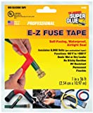 Super Glue Super Glue 15405-12 EZ Fuse Silicone Tape, Red, 36-Feet, 12-Pack(Pack of 12)