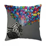 Disney Pixar up Balloons Pillow Covers (20x20 inch twin side)