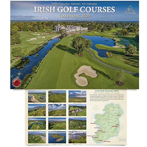 Irish Golf Courses A4