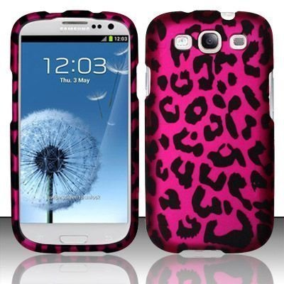 93cfaf0e4556 Cell Phone Case for AT&T,T-Mobile,Sprint,Verizon Samsung I9300 Galaxy S 3 -  Pink Leopard