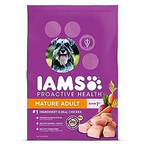 IAMS PROACTIVE HEALTH Mature Adult Dry Dog Food Chicken, 29.1 lb. Bag 30