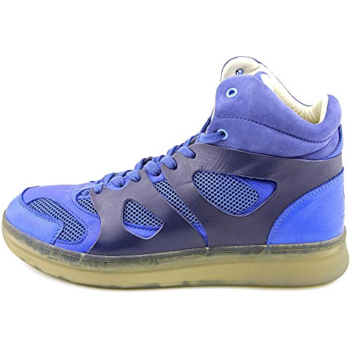 PUMA Mens MCQ Move Mid Alexander McQueen Blue Leather Athletic Sneakers Blue E3imuf