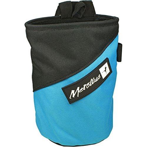 Metolius Competition Stripe Chalkbag Blue, One Size ()