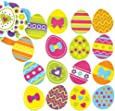 Baker Ross Easter Egg Foam Stickers for Children Creative Art Supplies & Decorations/Card Making (Pack of 125)
