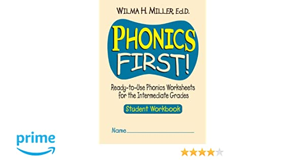 Workbook free phonics worksheets : Amazon.com: Phonics First!: Ready-to-Use Phonics Worksheets for ...