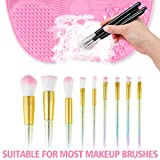 Ranphykx Silicon Makeup Brush Cleaning Mat Makeup